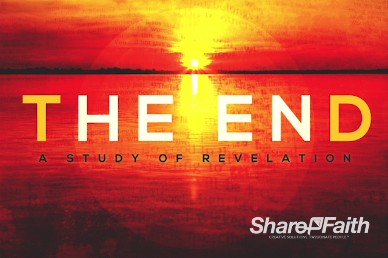 The End Revelation Study Christian Title Video Background