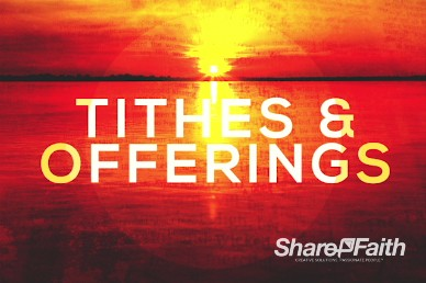 The End Revelation Study Christian Tithes and Offerings Video