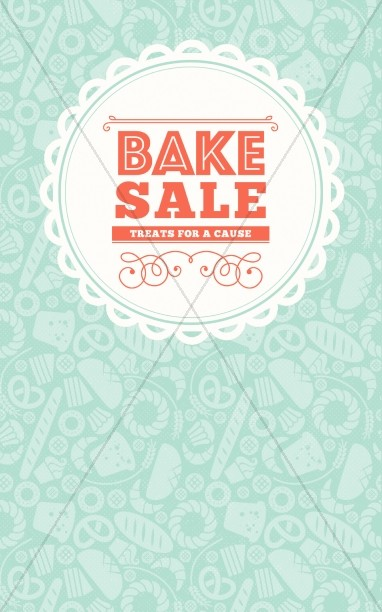 Bake Sale Church Bulletin