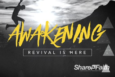 Awakening Revival Is Here Church Title Motion Video