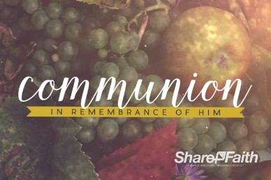 Happy Thanksgiving Fruit Ministry Communion Video Loop