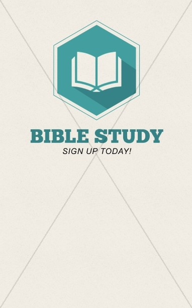 Bible Study Christian Bulletin