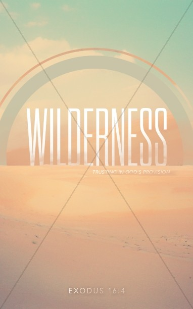 Wilderness Ministry Bulletin