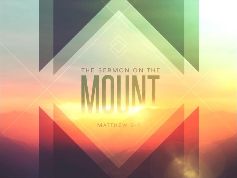 Sermon on the Mount Ministry PowerPoint