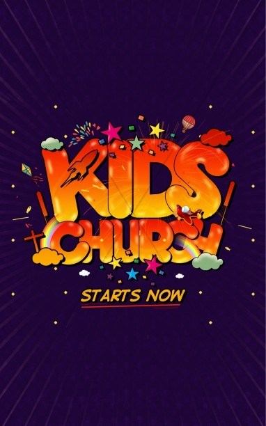 Kids Church Starts Now Ministry Bulletin