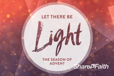 Let There be Light Church Intro Video
