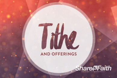 Let There be Light Church Title Video Loop