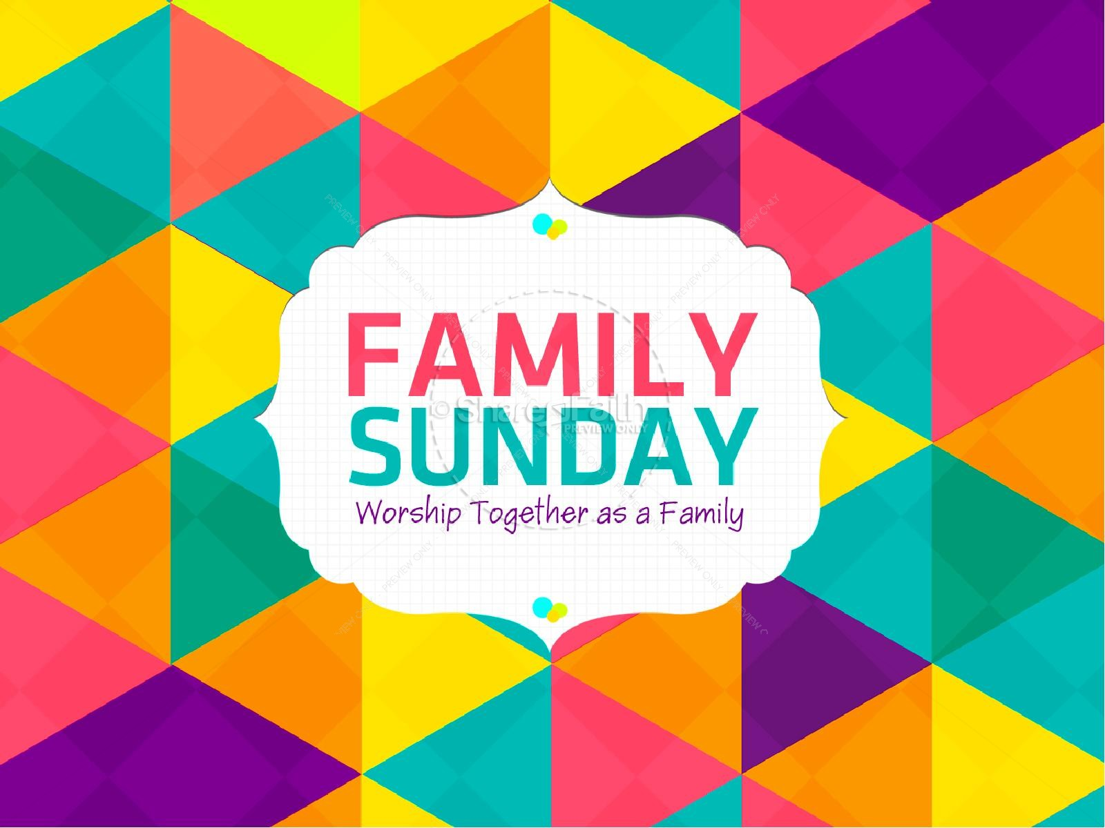 Family Sunday Worship PowerPoint