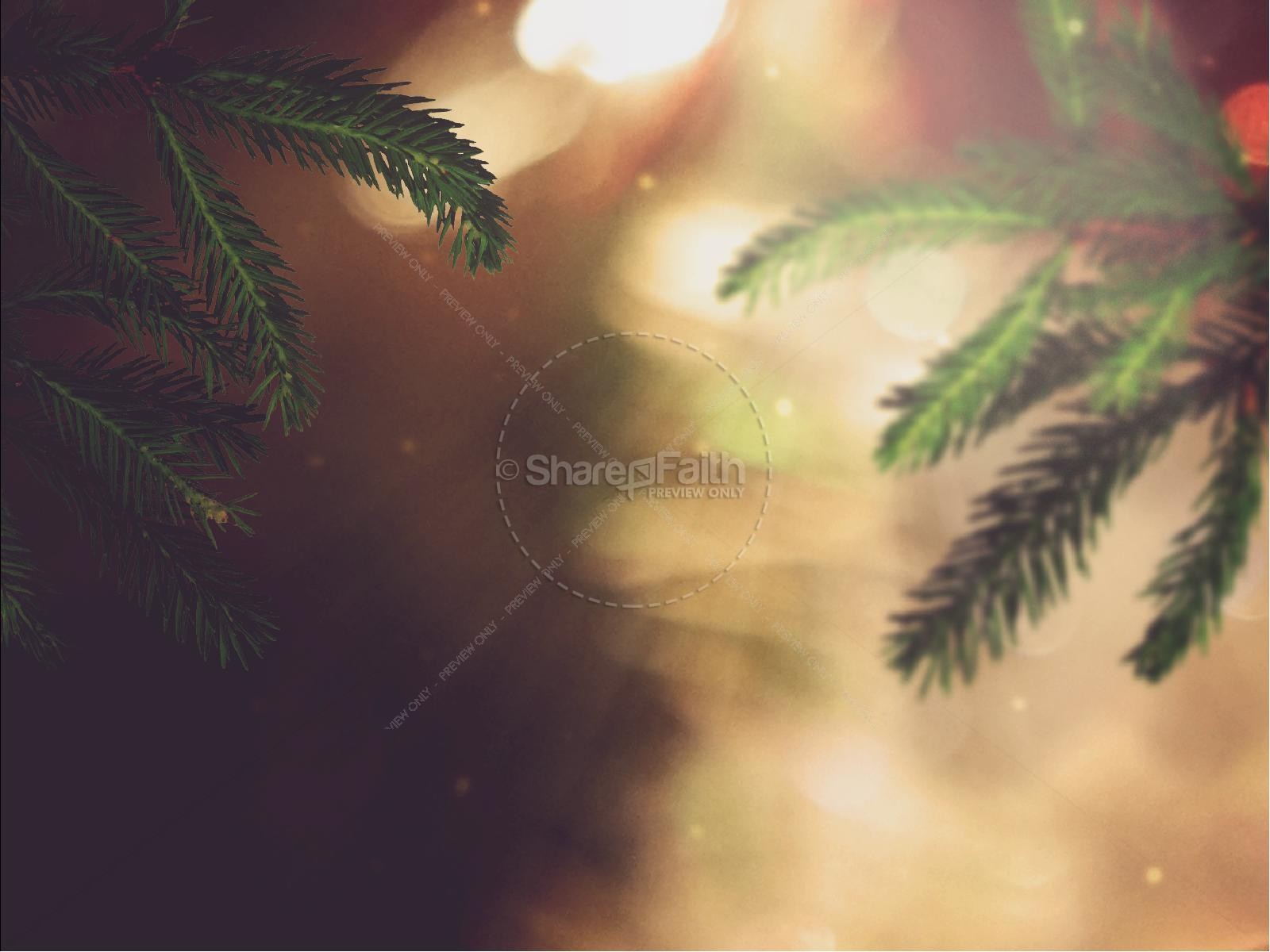 Joy to the World Christmas PowerPoint  Template | slide 6