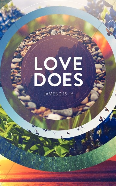 Love Does Ministry Bulletin