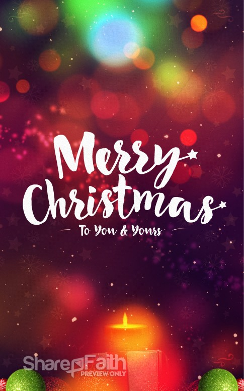 merry christmas to you and yours ministry bulletin christmas bulletins