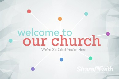 Community Groups Ministry Welcome Background Video