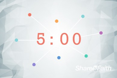 Community Groups Ministry Five Minute Countdown Timer