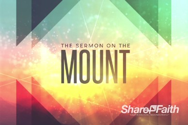 Sermon on the Mount Ministry Title Video