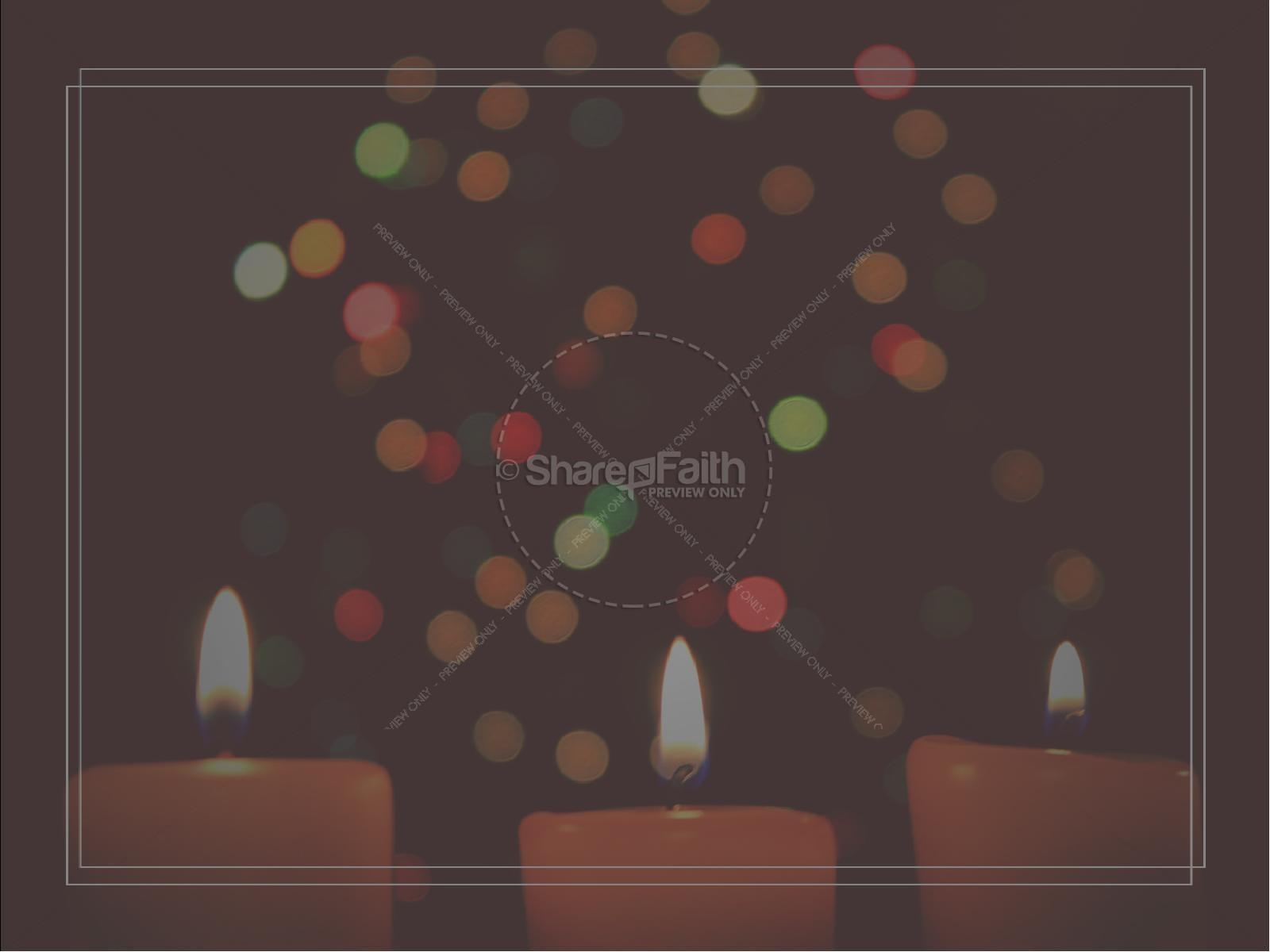 Christmas Eve Candlelight Service Ministry PowerPoint | slide 5