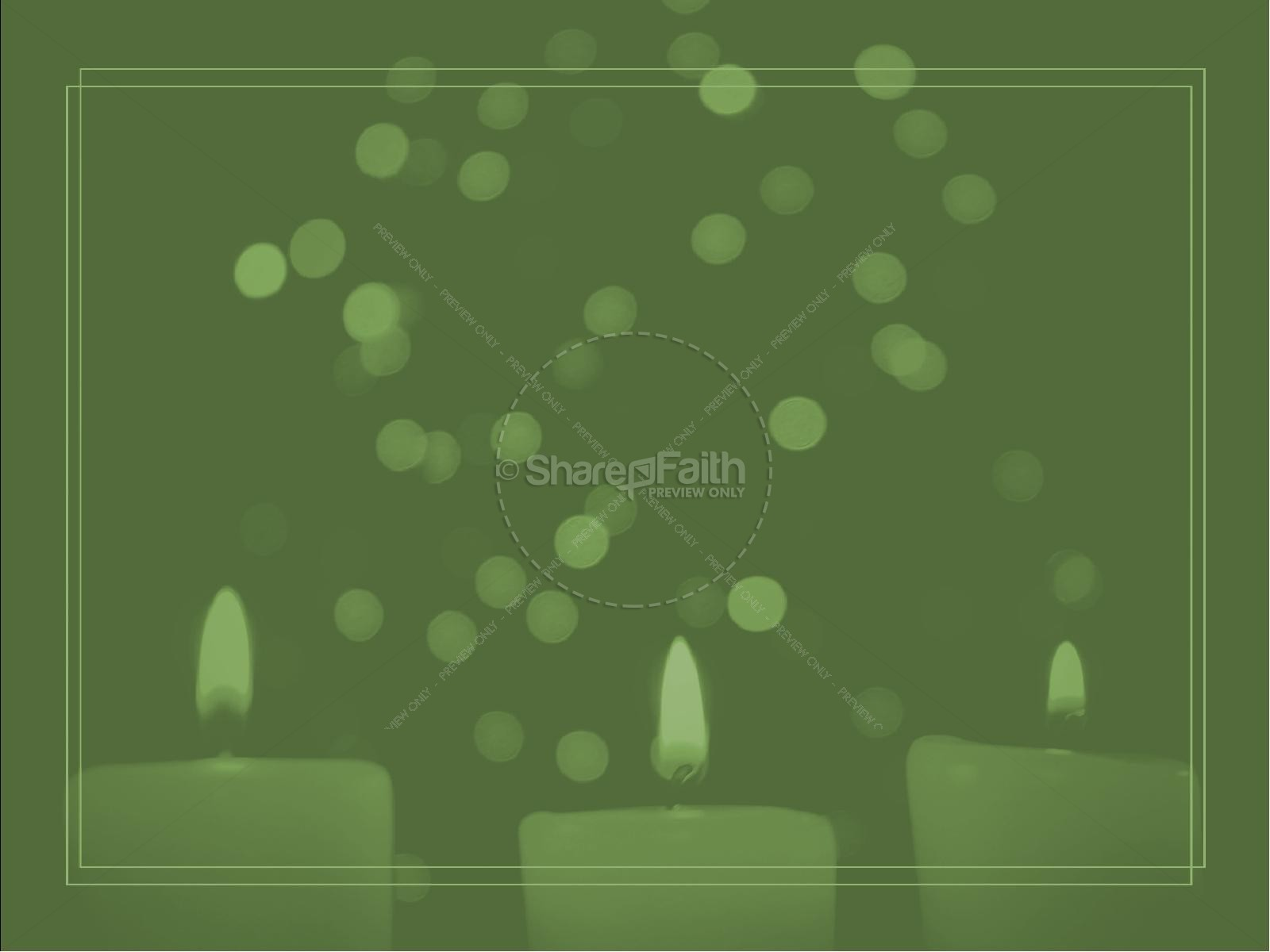 Christmas Eve Candlelight Service Ministry PowerPoint   slide 7
