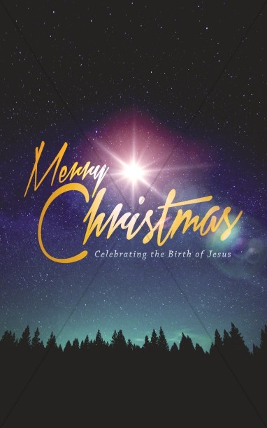 Merry Christmas Bright Star Ministry Bulletin