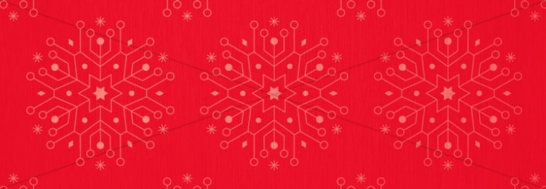 Snowflake Christmas Invitation Ministry Web Banner