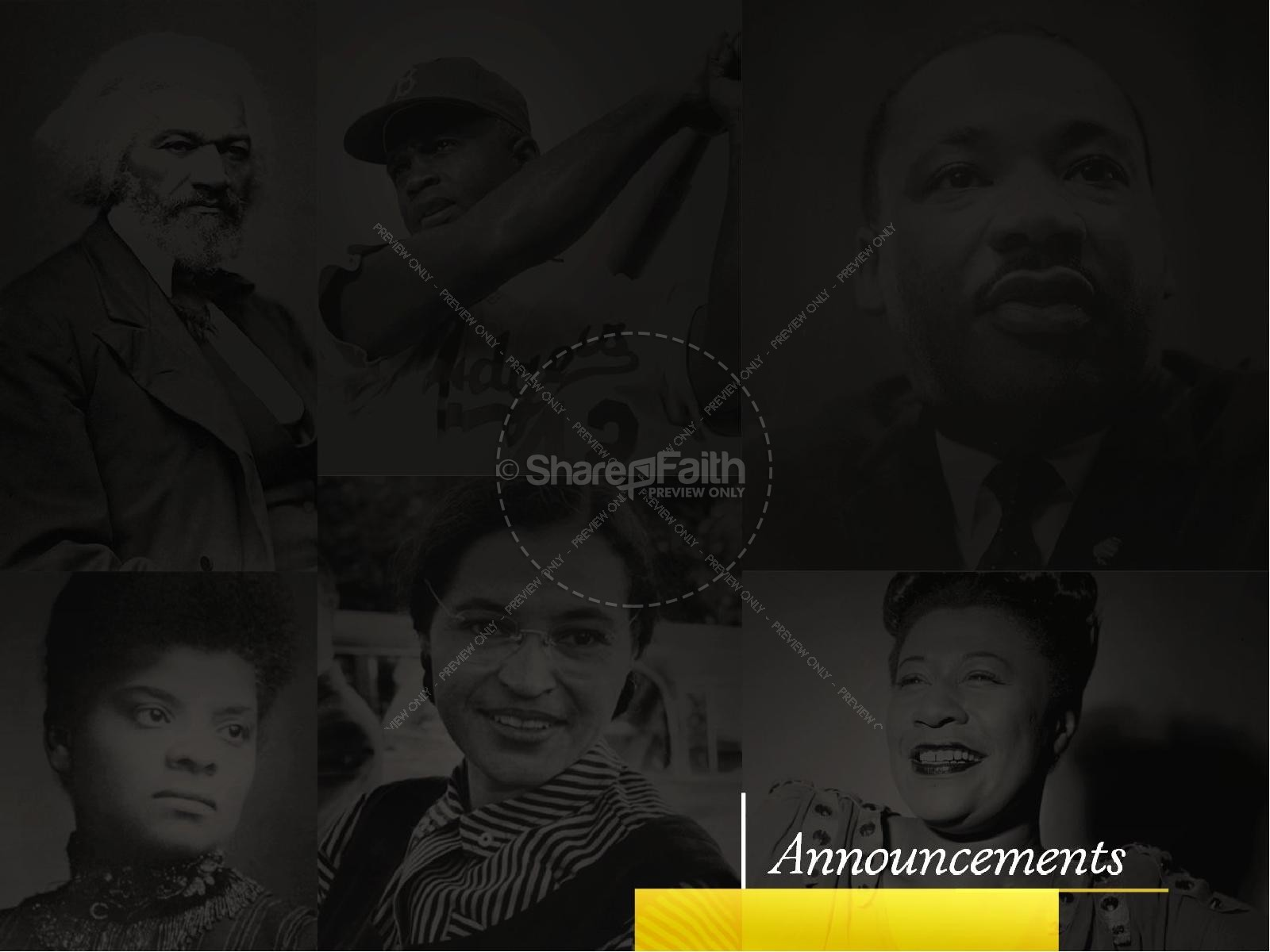 Black History Celebration Sermon PowerPoint