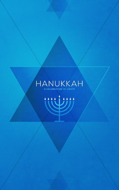 Hanukkah Celebration of Lights Church Bulletin