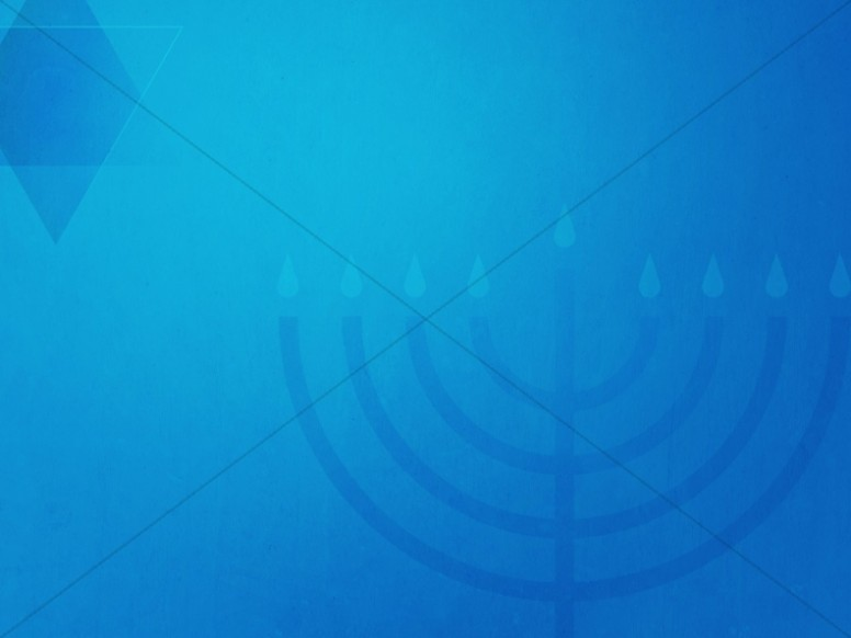 Hanukkah Celebration of Lights Church Worship Background