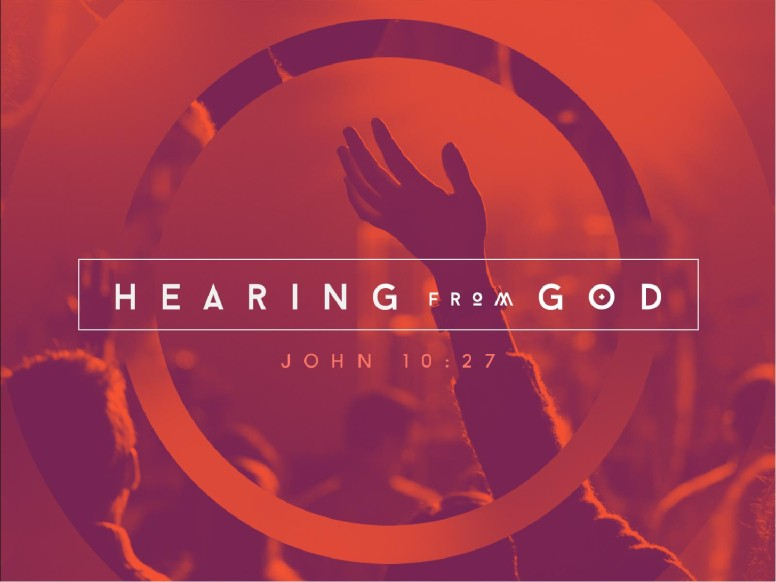 Hearing From God Ministry Church PowerPoint
