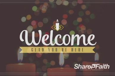 Christmas Eve Candlelight Service Ministry Welcome Video