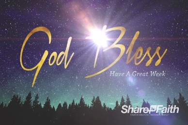 Merry Christmas Bright Star Ministry Goodbye Video Loop