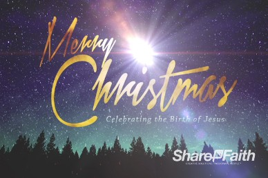 Merry Christmas Bright Star Ministry Title Video
