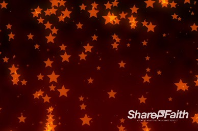 Star Fall Presentation Worship Video Background