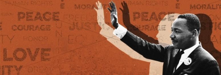 MLK Day Christian Ministry Banner