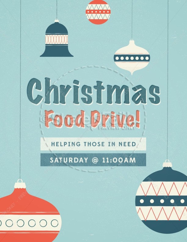 christmas food drive - photo #34