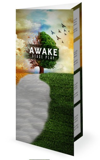Awake Church Trifold Bulletin
