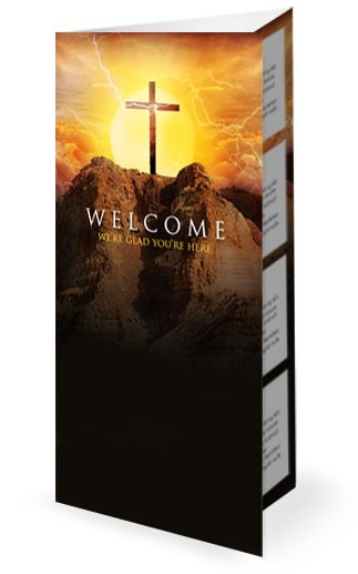 Death Where is Your Sting Easter Graphics Religious Trifold Bulletin