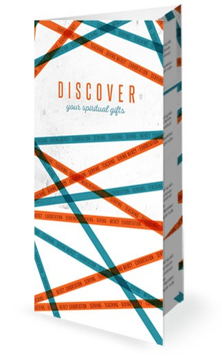 Discovering Your Spiritual Gifts Church Trifold Bulletin