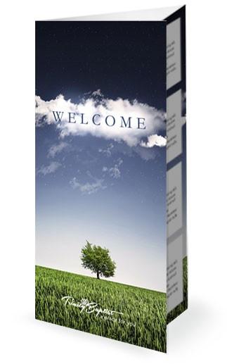 From Dream to Destiny Christian Church Trifold Bulletin