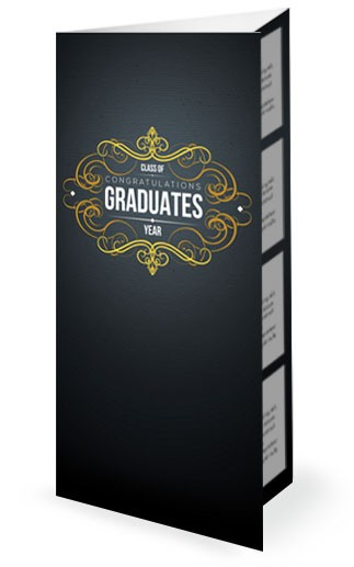 Graduation Party Church Trifold Bulletin