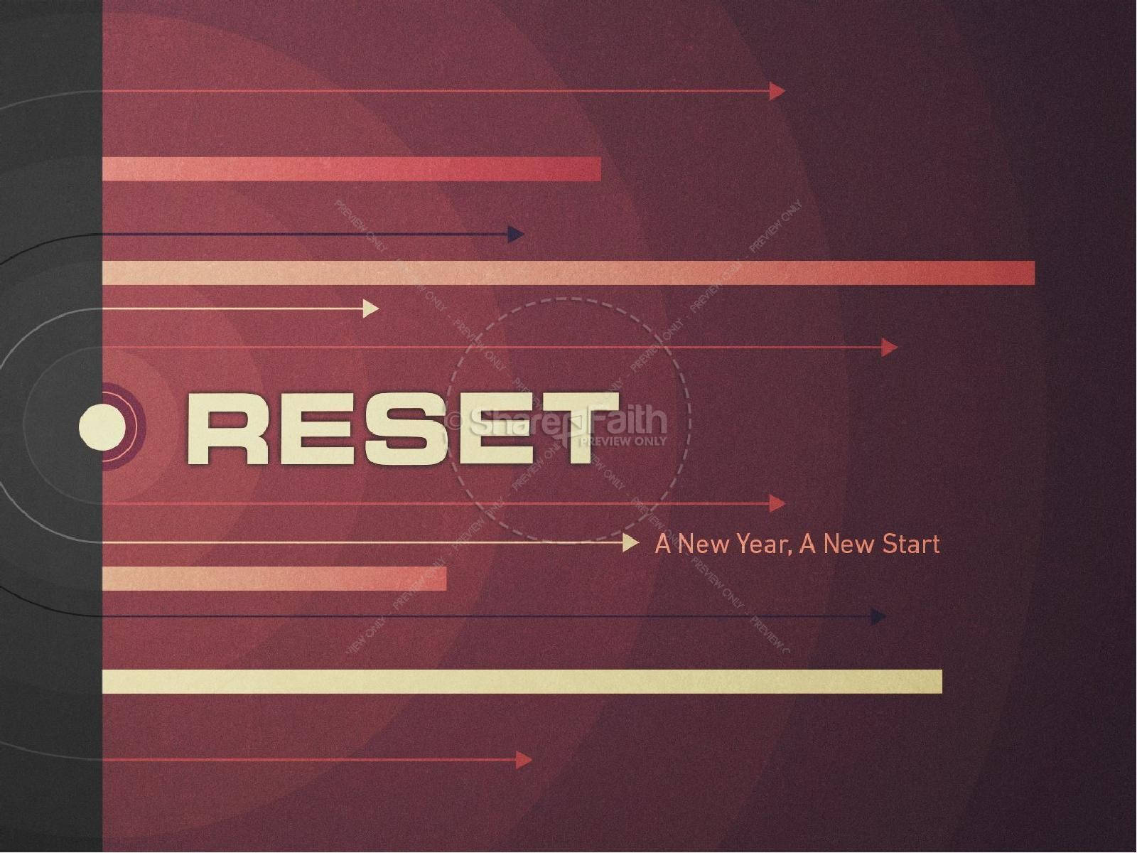 Reset for the New Year Christian Semon PowerPoint