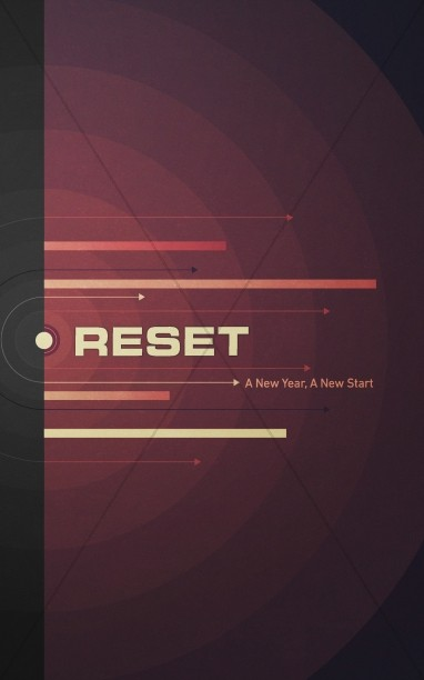 Reset for the New Year Christian Church Bulletin
