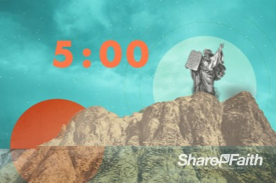 Understanding the Ten Commandments Countdown Video Loop