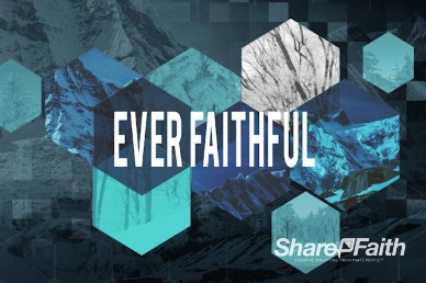 Ever Faithful Title Motion Video Loop