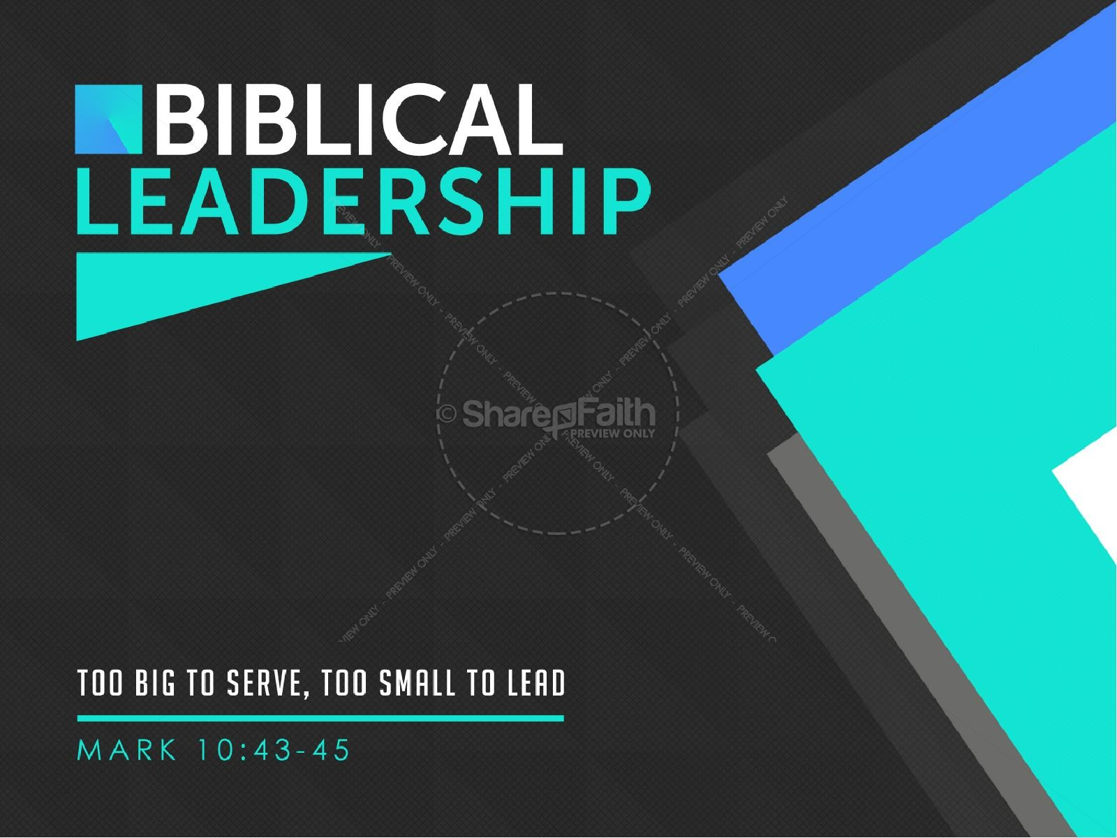 Biblical Leadership Church Sermon PowerPoint