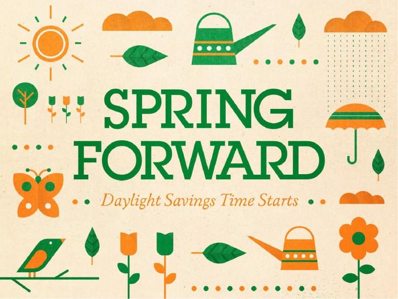 Spring Forward Daylight Saving Church PowerPoint