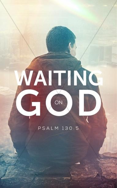 Waiting on God Church Bulletin