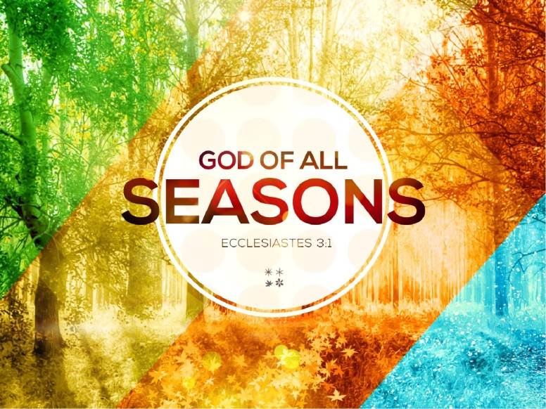 God of All Seasons Sermon PowerPoint