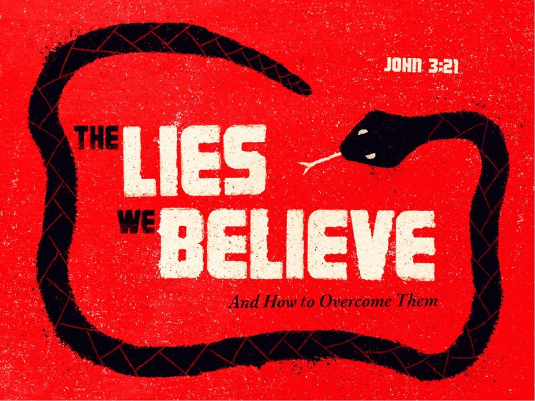 The Lies We Believe Sermon PowerPoint