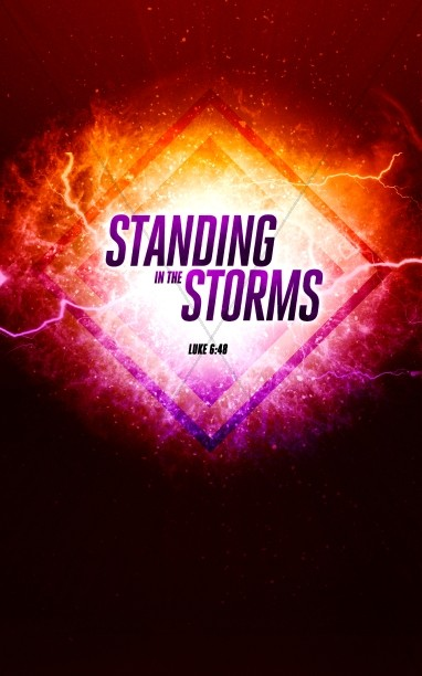 Standing in the Storms Church Bulletin