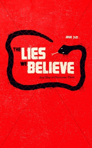 The Lies We Believe Church Bulletin