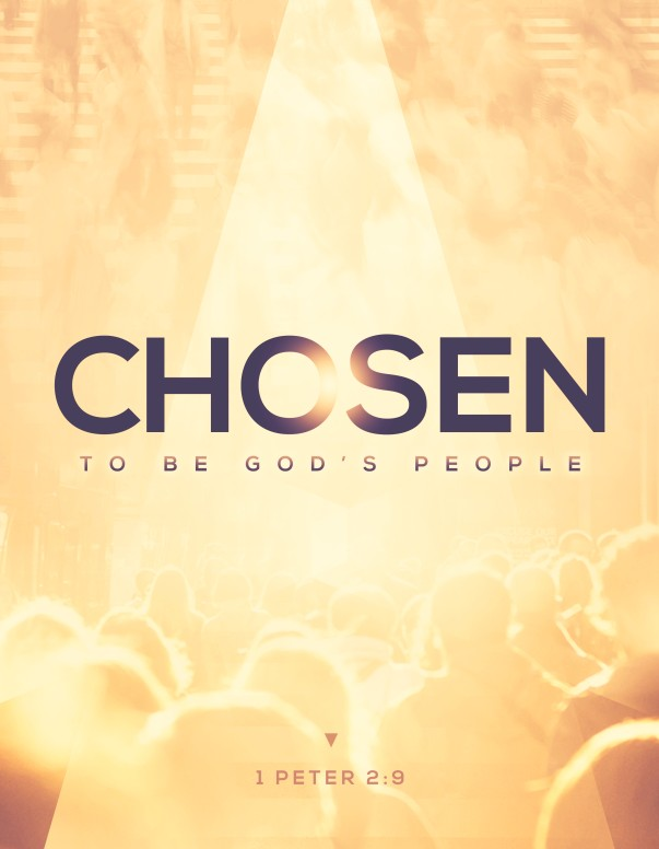 Chosen to Be God's People Church Flyer