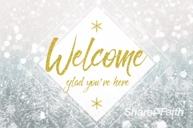 Winter Communion Welcome Video Loop